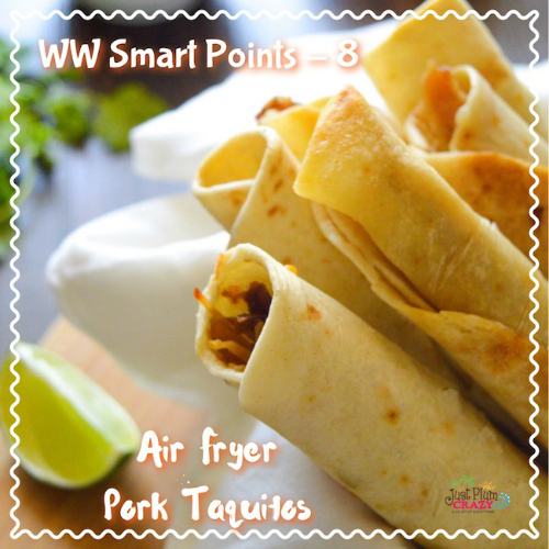 Air Fryer Pork Taquitos