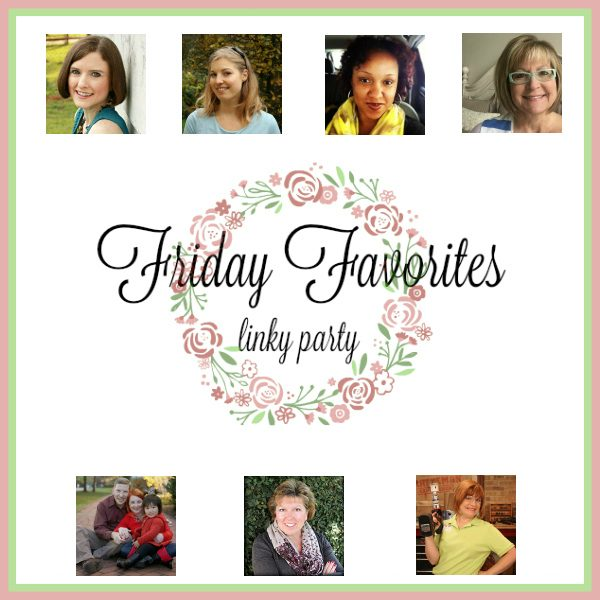 Friday Favorites DIY craft and recipe link up party on Condo Blues