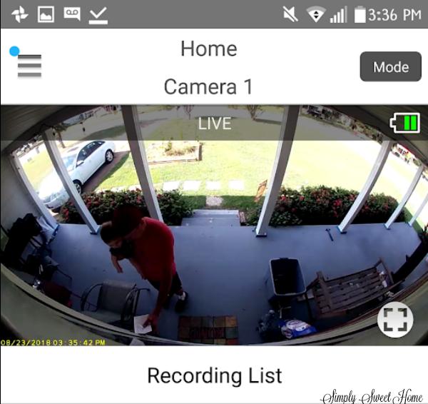 Panasonic Homehawk Front Door Home Monitoring Camera Review And