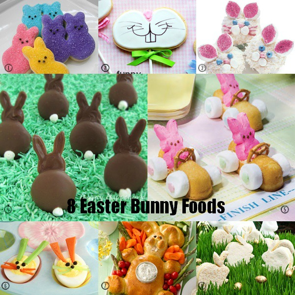 Easter Is Just Around The Corner Can You Believe It To Get Everyone In Spirit Today I Ve Got Some Fun Bunny Themed Food Ideas