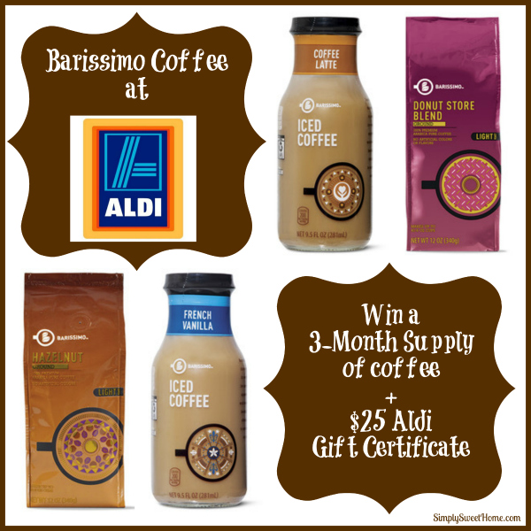 aldi barissimo coffee and 25 gift certificate giveaway aldi barissimo coffee and 25 gift certificate giveaway
