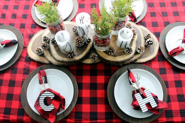 plaid-christmas-table-ideas
